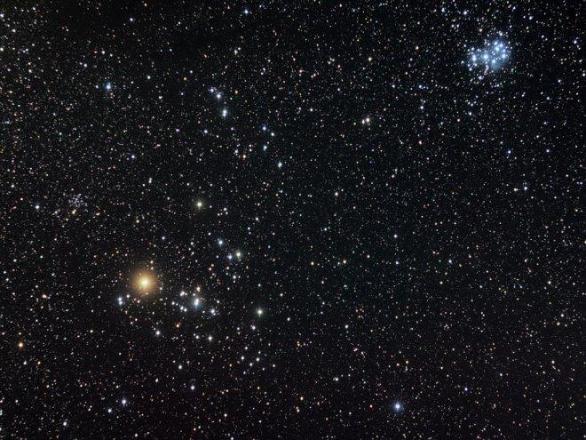 Hyades-Pleiades
